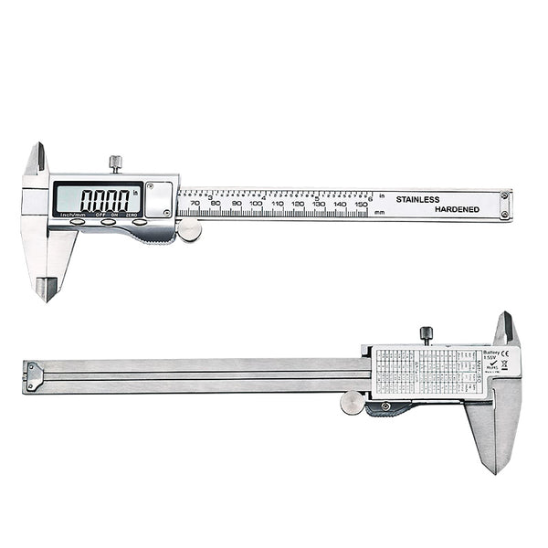 Express Metal 6-inch 150mm Stainless Steel Electronic Digital Vernier Caliper Micrometer Measuring