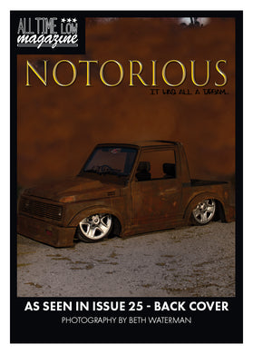 Notorious Collectible Trading Card
