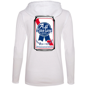 Beer Can Logo Ladies Hoodie