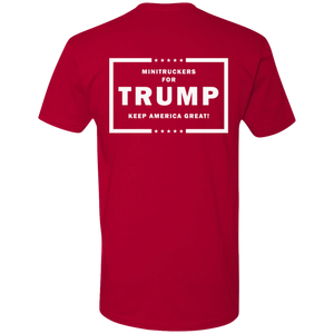 Minitruckers for Trump T-Shirt