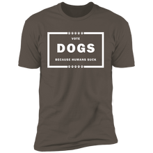 Load image into Gallery viewer, Vote Dog! Short Sleeve T-Shirt