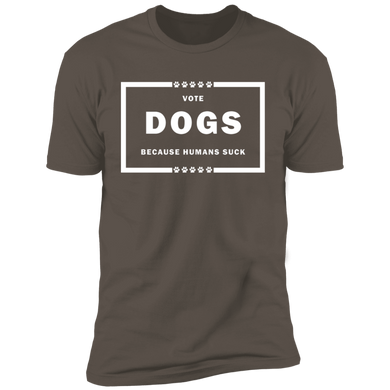 Vote Dog! Short Sleeve T-Shirt
