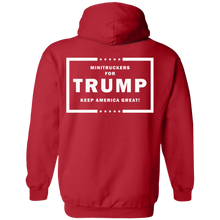 Load image into Gallery viewer, Minitruckers for Trump Hoodie