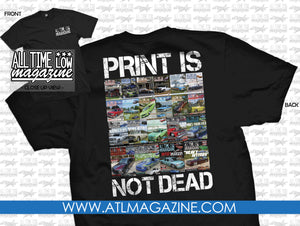 Print Is Not Dead T-Shirt