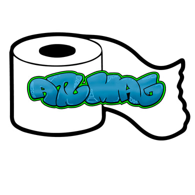TP Roll Sticker