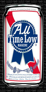 All Time Low PBR Banner 2' x 4'