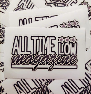 Printed ATL logo sticker 5