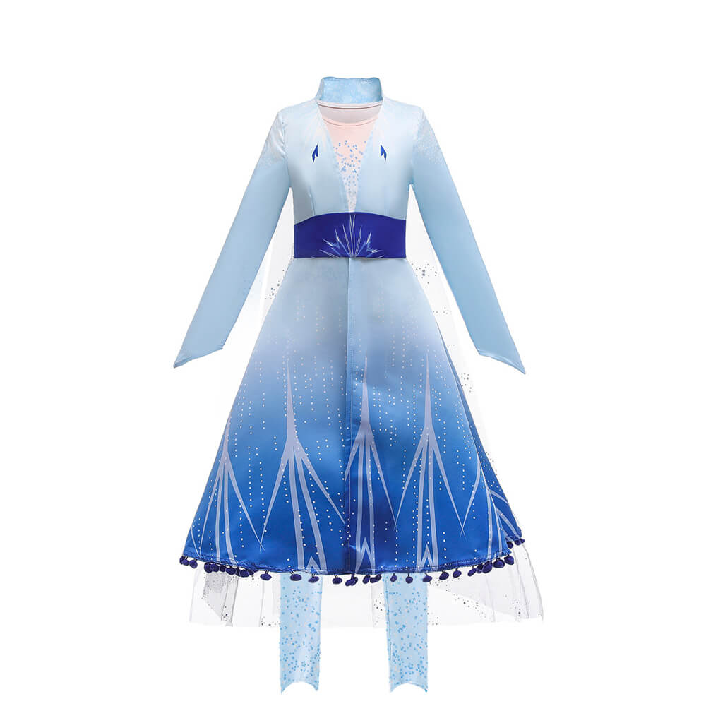 Frozen 2 Elsa jurk kind