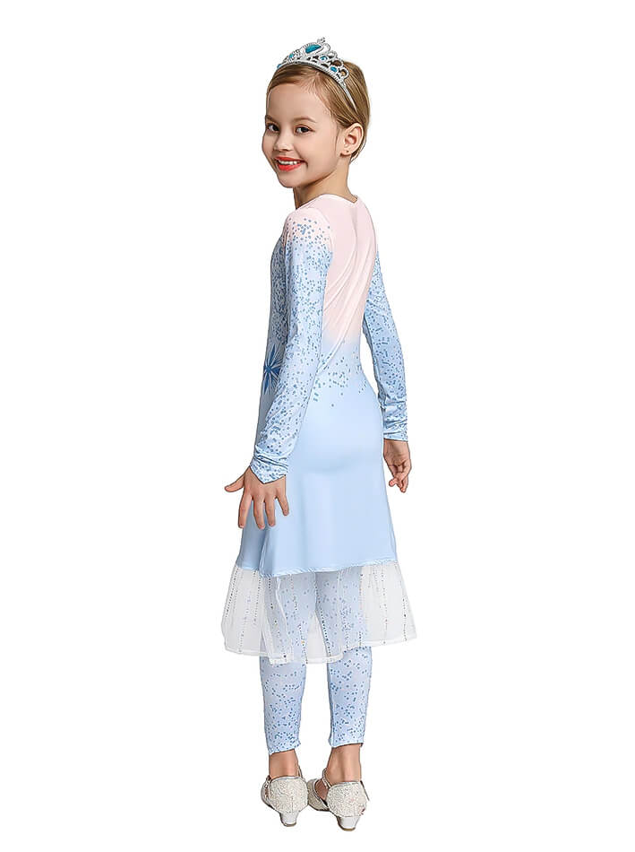 Elsa jurk Frozen 2 kind