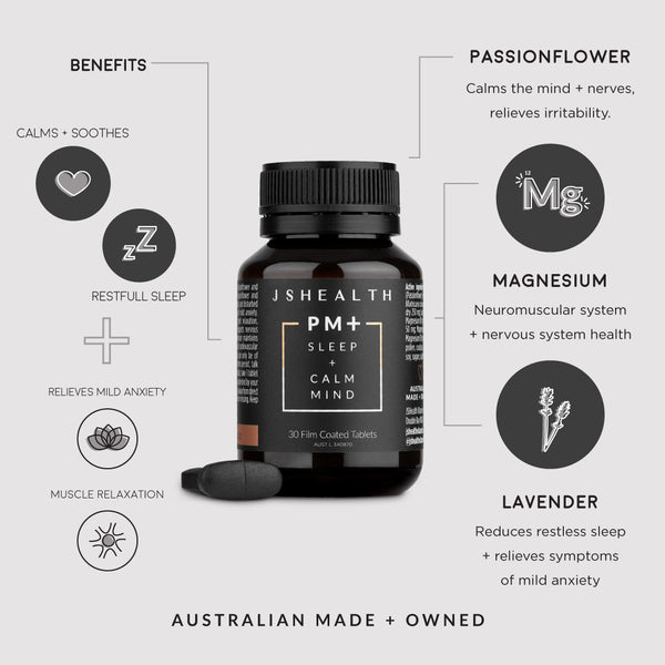 PM+ Sleep Formula - 30 Tablets