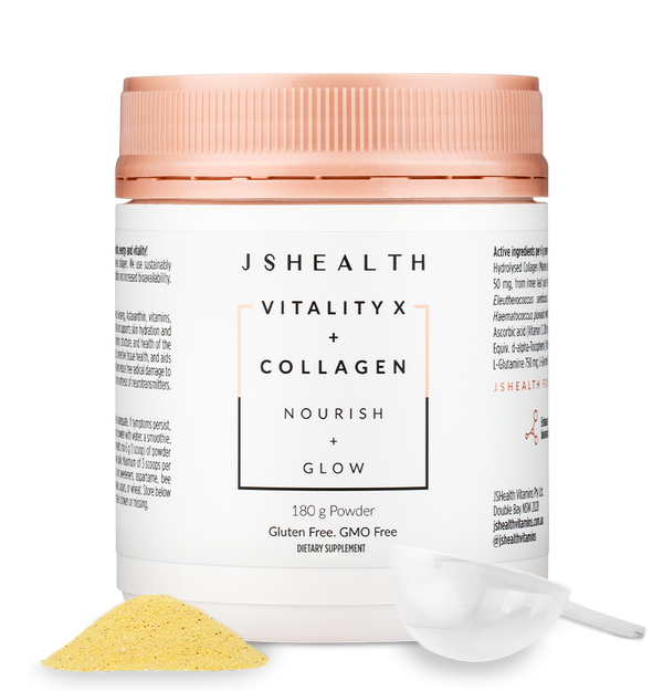 Vitality X + Collagen Powder 180g