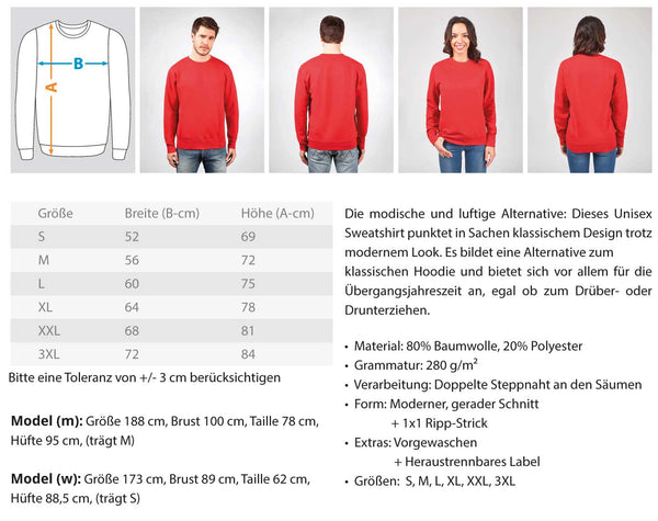 PM FASHION WOMEN® Red Lipstick  - Unisex Pullover - PM FASHION®