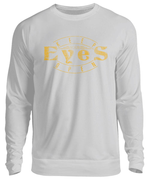 PM FASHION MEN® Keep your Eyes open  - Unisex Pullover - PM FASHION®