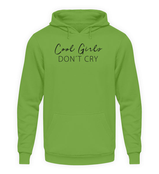 PM FASHION WOMEN® Cool Girls dont Cry  - Unisex Kapuzenpullover Hoodie - PM FASHION®
