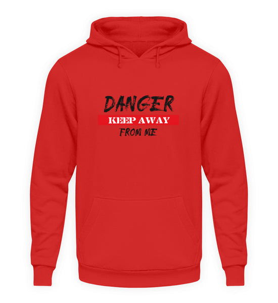 PM FASHION MEN® Danger  - Unisex Kapuzenpullover Hoodie - PM FASHION®
