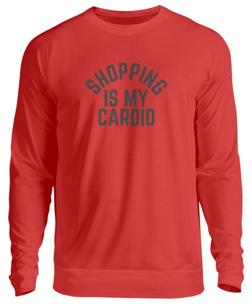 PM FASHION WOMEN® Shopping is my Cardio  - Unisex Pullover - PM FASHION®