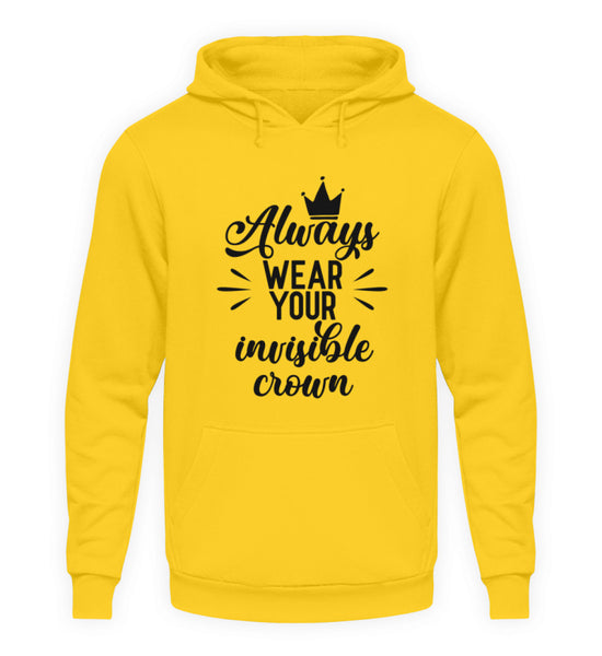 PM FASHION WOMEN® Your invisible Crown  - Unisex Kapuzenpullover Hoodie - PM FASHION®