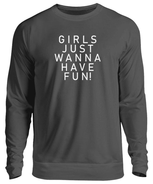 PM FASHION WOMEN® Girls have Fun  - Unisex Pullover - PM FASHION®