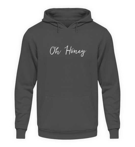 PM FASHION WOMEN® Oh Honey  - Unisex Kapuzenpullover Hoodie - PM FASHION®