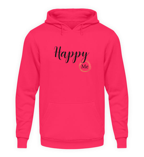 PM FASHION WOMEN® Happy me  - Unisex Kapuzenpullover Hoodie - PM FASHION®