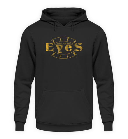 PM FASHION MEN® Keep your Eyes open  - Unisex Kapuzenpullover Hoodie - PM FASHION®