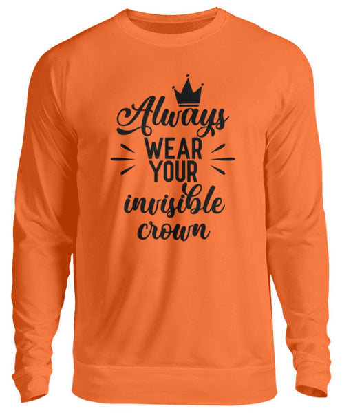 PM FASHION WOMEN® Your invisible Crown  - Unisex Pullover - PM FASHION®