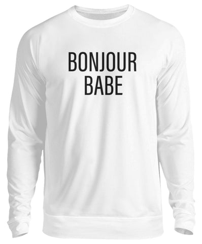 PM FASHION WOMEN® Bonjour Babe  - Unisex Pullover - PM FASHION®