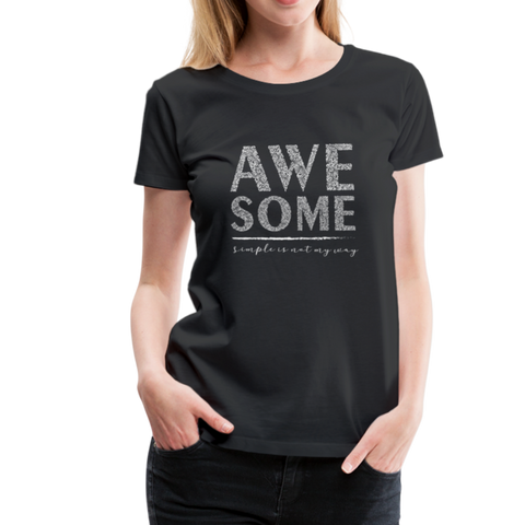 Awsome T-Shirt - Schwarz