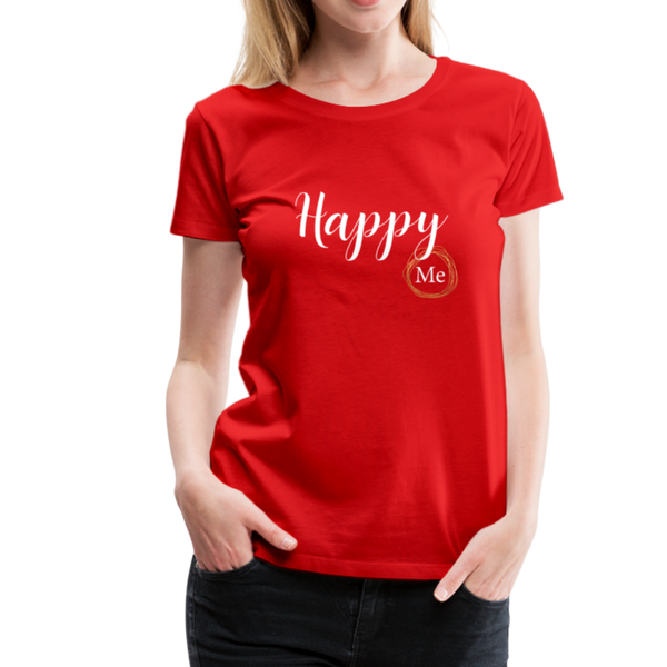 Happy me T-Shirt - Rot