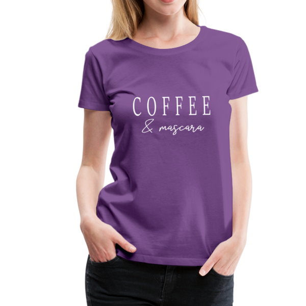 Coffee & Mascara T-Shirt - Lila