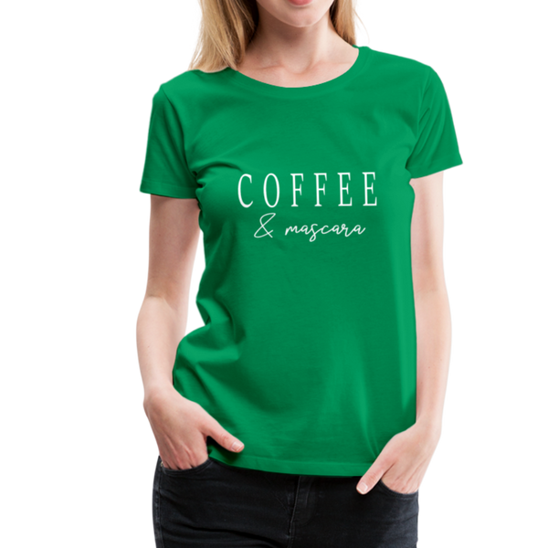 Coffee & Mascara T-Shirt - Kelly Green