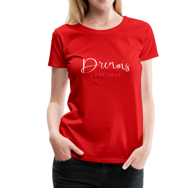 Dreams T-Shirt - Rot