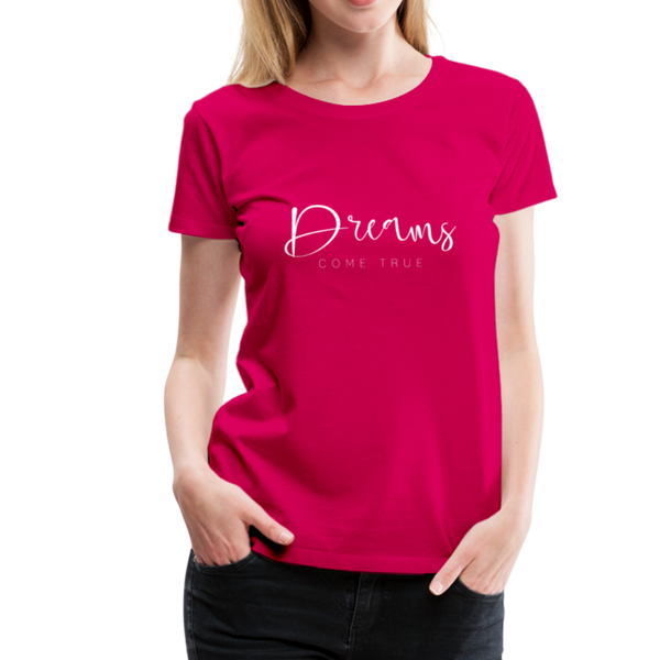 Dreams T-Shirt - dunkles Pink