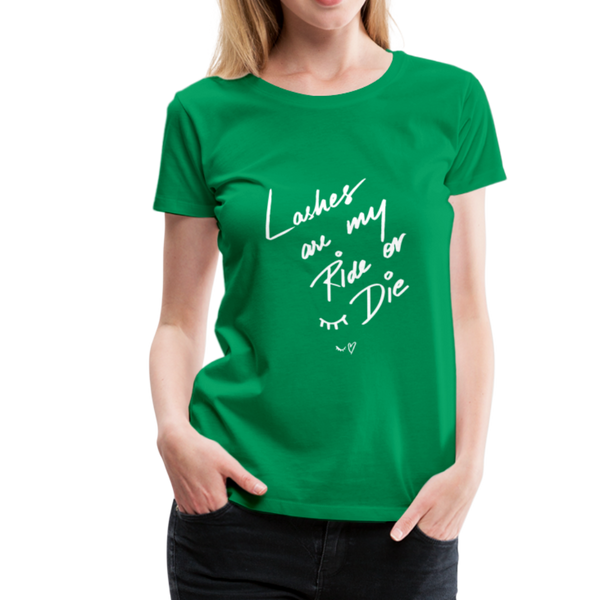 Lashes T-Shirt - Kelly Green