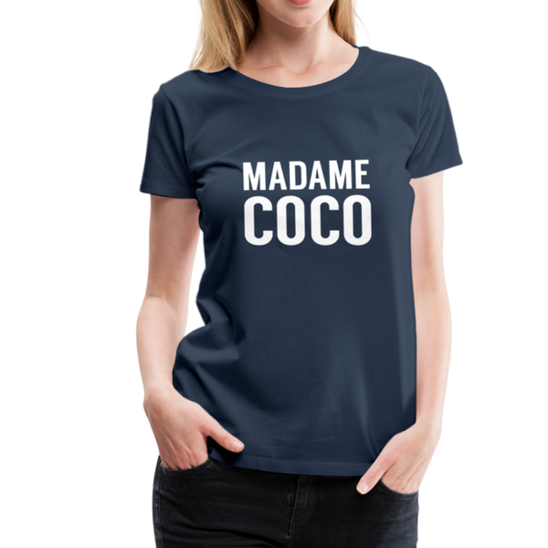 Madame Coco T-Shirt - Navy