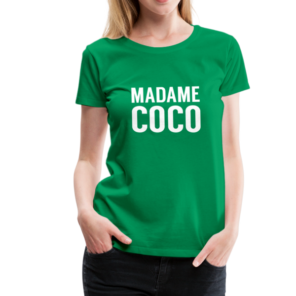 Madame Coco T-Shirt - Kelly Green