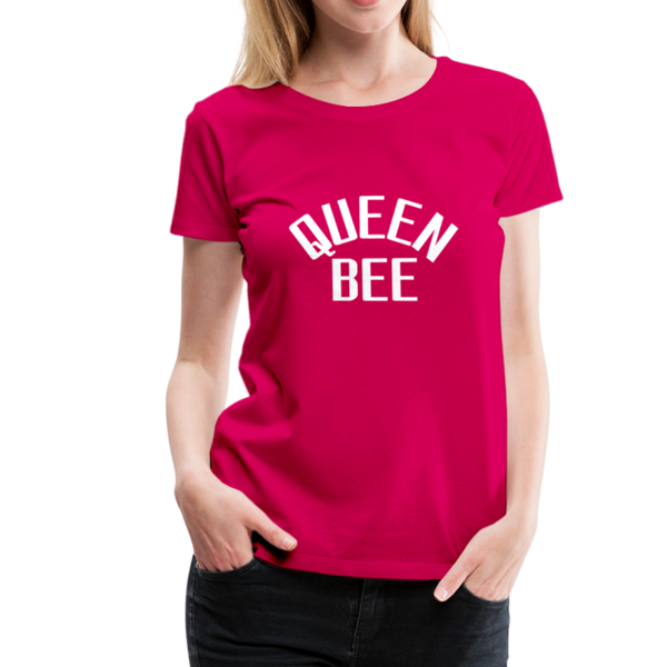 Queen Bee T-Shirt - dunkles Pink