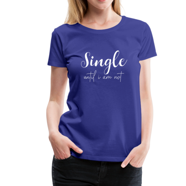Single T-Shirt - Königsblau