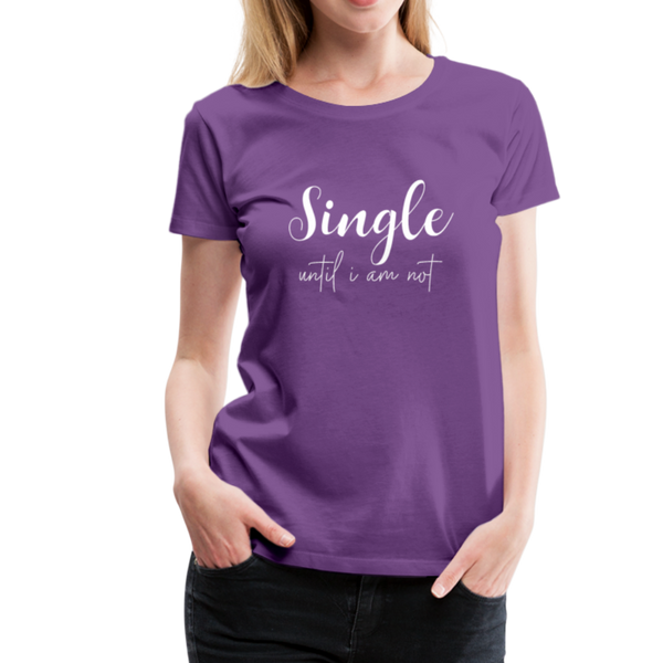 Single T-Shirt - Lila
