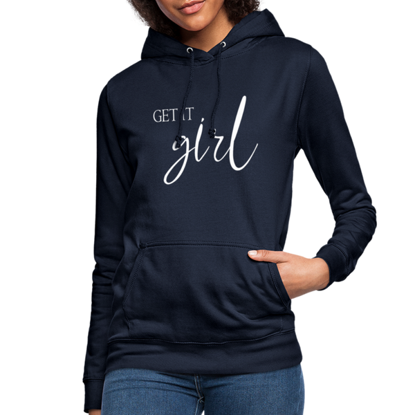 Get it Girl Hoodie - navy