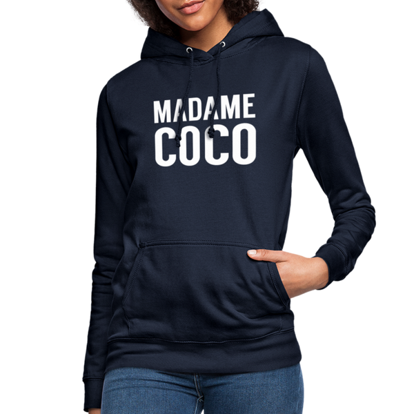 Madame Coco Hoodie - navy
