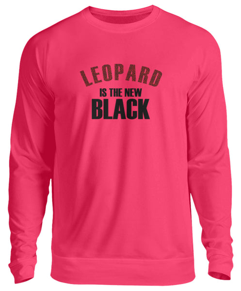PM FASHION WOMEN® Leopard is the new Black  - Unisex Pullover - PM FASHION®