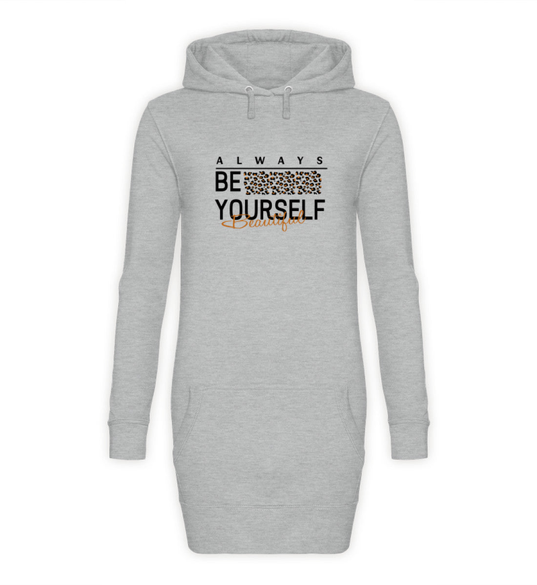 PM FASHION WOMEN® Be Yourself  - Damen Hoodie-Kleid - PM FASHION®