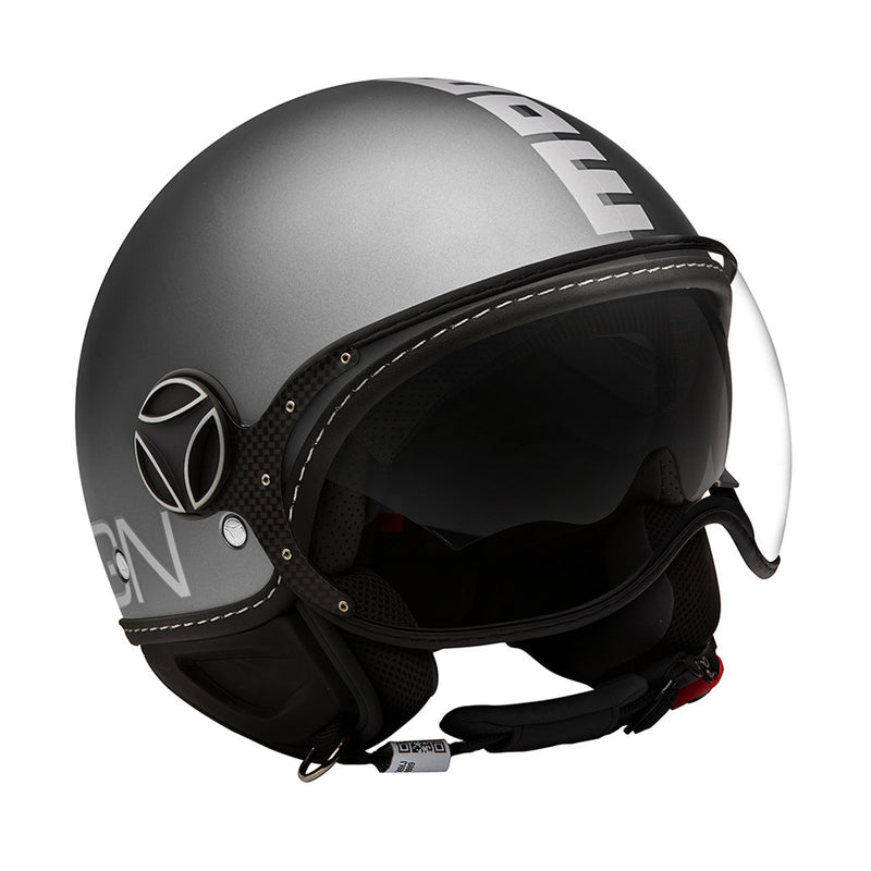 DEMI JET HELMET FGTR EVO JOKER Black Clear Grey