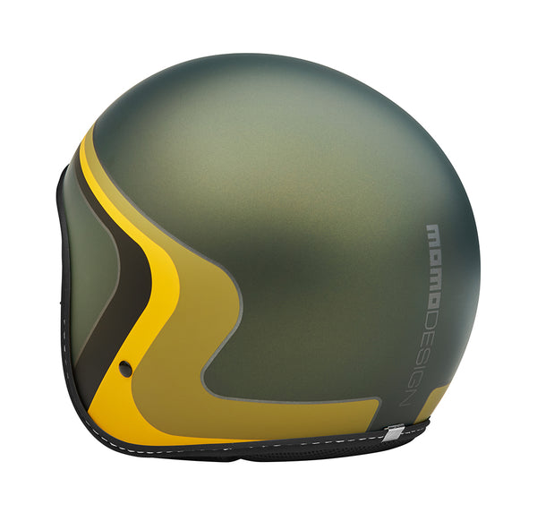 JET HELMET EAGLE VINTAGE MILITARY Green