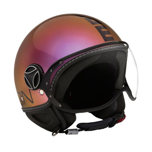 DEMI JET HELMET FGTR CLASSIC POP FUXIA GLOSS COPPER