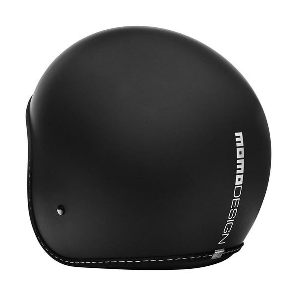 JET HELMET EAGLE PURE Black