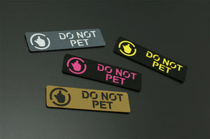 """Do Not Pet"" Patch M2"