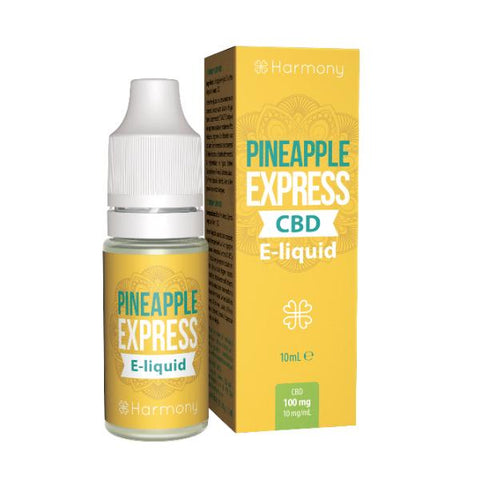 Harmony CBD E-Liquid Pineapple Express - 10 ml