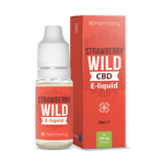 Harmony CBD E-Liquid Erdbeere Wild Strawberry - 10 ml